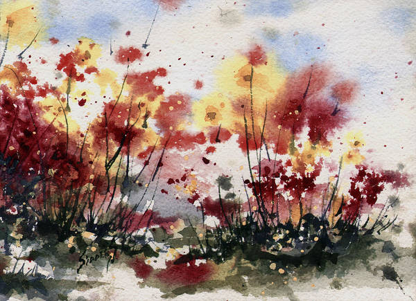Painting - Flowers by Sam Sidders