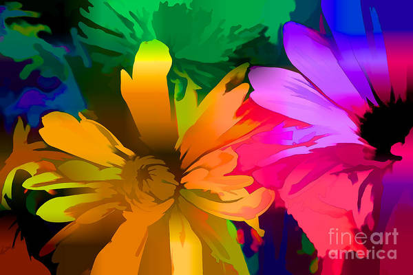 Photograph - Flowers X by Charles Muhle