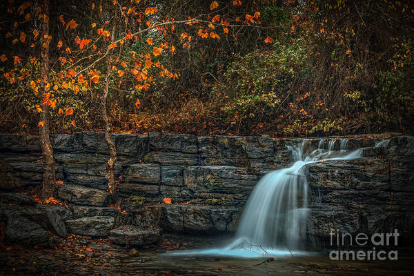 Photograph - Flowing Colors by Larry McMahon
