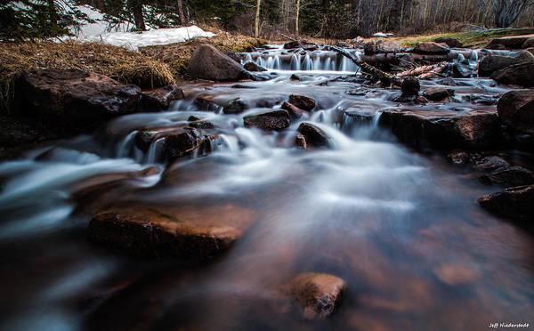 Photograph - Flowing by Jeff Niederstadt