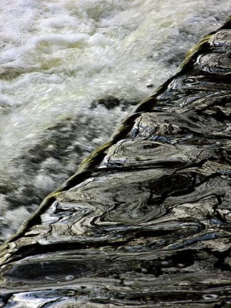 Moving Water Photograph - Flowing River by Ian Gowland/science Photo Library