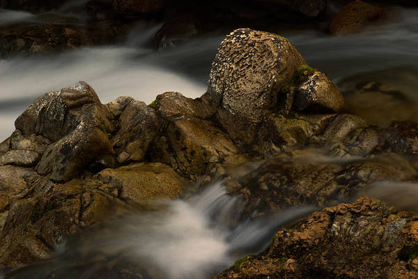 Photograph - Flowing Water by Randy Hall