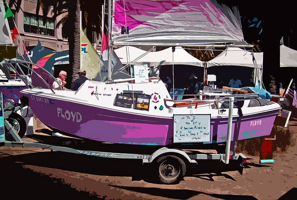Photograph - Floyd At Boat Show  2013 by Joseph Coulombe