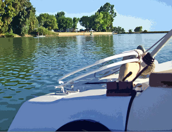 Photograph - Floyd Passing A Delta Marina by Joseph Coulombe