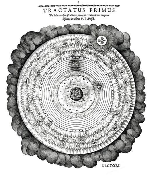Fludd's Macrocosmic World View Art Print