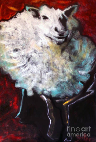 Painting - Fluffy by Cindy Suter