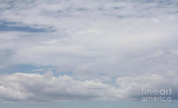 Wall Art - Photograph - Fluffy Clouds Over Jones Beach by John Telfer