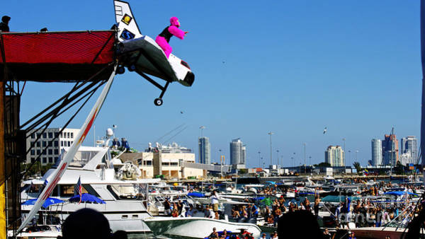 Flugtag Photograph - Flugtag Miami by Dieter  Lesche