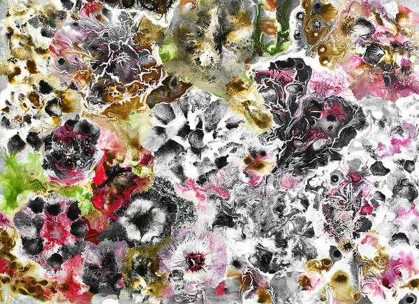 Fluid Acrylic Painting - Fluidity 1 by Sumit Mehndiratta