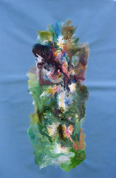 Fluid Acrylic Painting - Fluidity 3 by Sumit Mehndiratta
