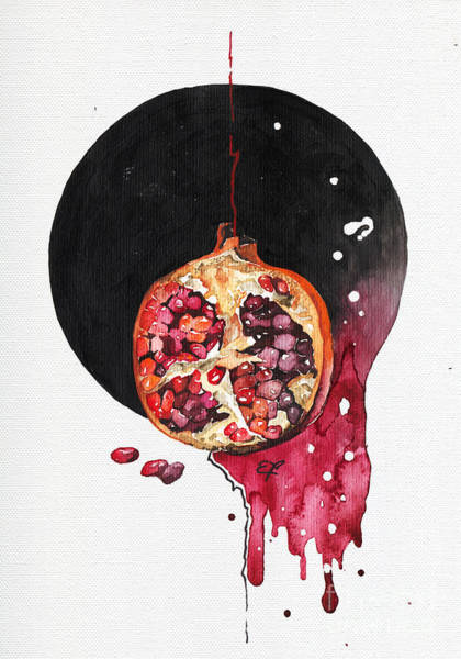 Yummy Painting - Fluidity Vii - Elena Yakubovich by Elena Yakubovich