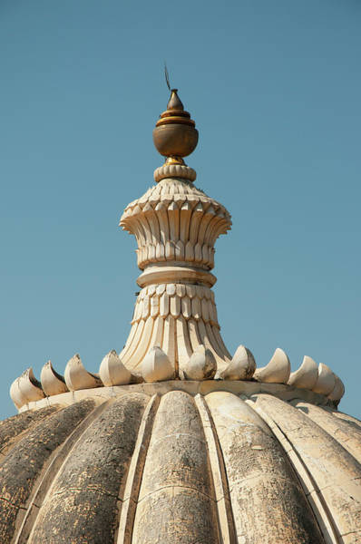 Fortification Photograph - Fluted Dome On Kumbhalgarh Fort by Inger Hogstrom