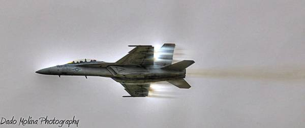 Airshow Photograph - Fly-by by Dado Molina