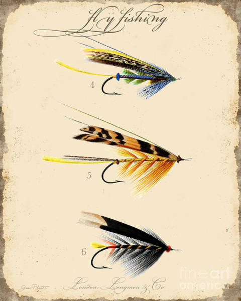 Fly Fishing-jp2095 Art Print