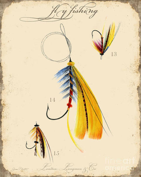 Fly Fishing-jp2098 Art Print