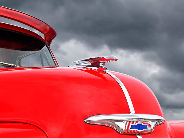 Photograph - Fly Like A Bird - Chevrolet Hood Ornament 1953 - 1954 by Gill Billington