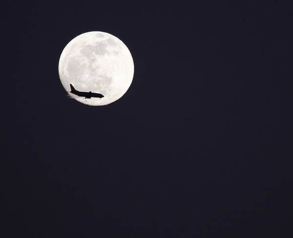 Photograph - Fly Me To The Moon by Nathan Rupert