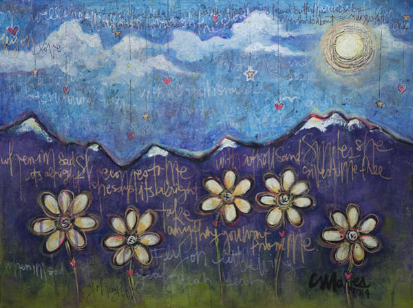 Painting - Fly On My Love by Laurie Maves ART