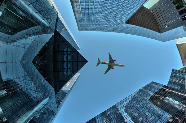 Plane Wall Art - Photograph - Fly Over by Marc Pelissier