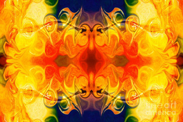 Digital Art - Fly With Me Abstract Pattern Artwork By Omaste Witkowski  by Omaste Witkowski