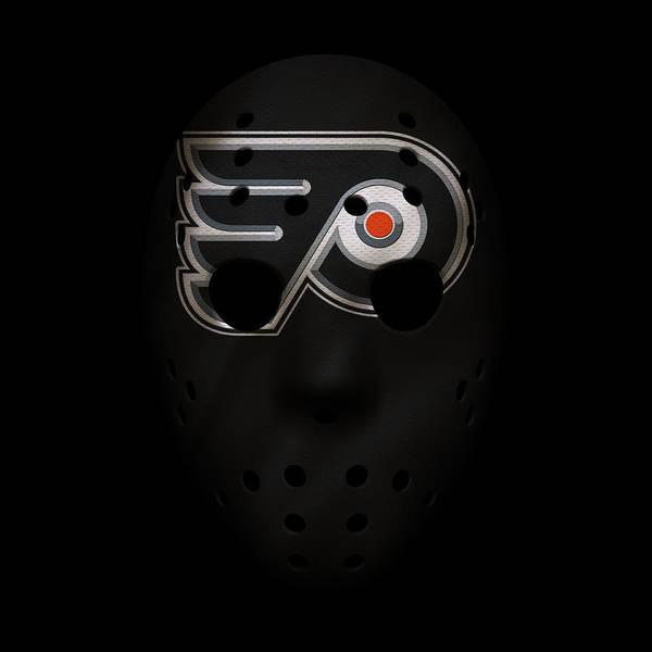 Flyers Photograph - Flyers Jersey Mask by Joe Hamilton