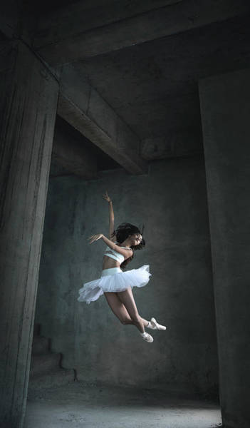 Wall Art - Photograph - Flying Dance by Sebastian Kisworo