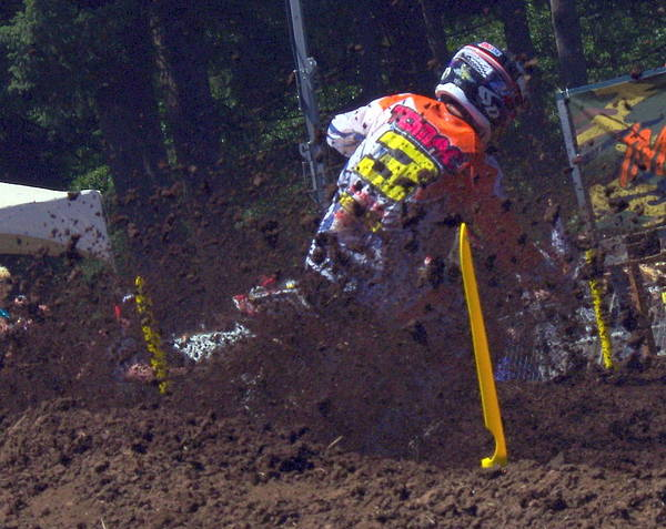 Washougal Photograph - Flying Dirt by Brian McCullough