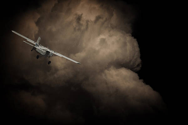 Kimberley Airport Photograph - Flying Into Danger by Paul Job