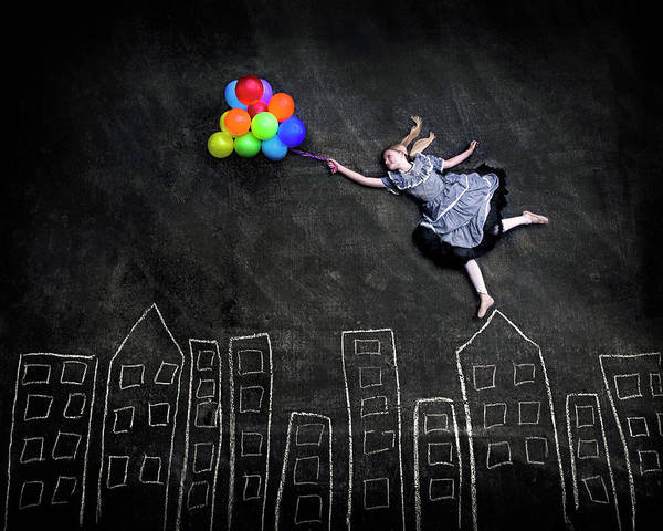 Celebration Photograph - Flying On The Rooftops by Nj Sabs