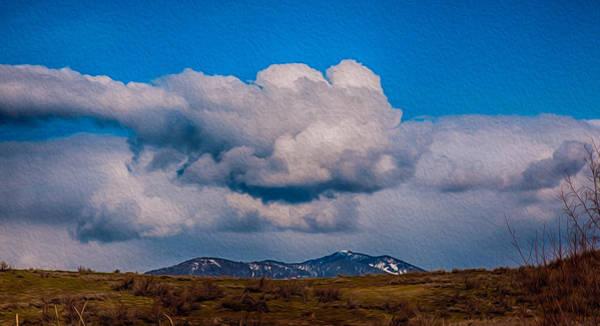Painting - Flying Rain Spirit by Omaste Witkowski