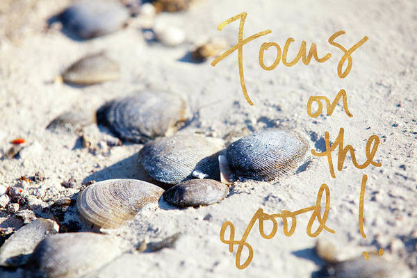 Wall Art - Photograph - Focus On The Good by Susan Bryant