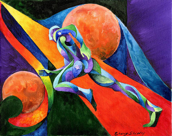 Painting - Focus On You Dreams And Goals by Sherry Shipley