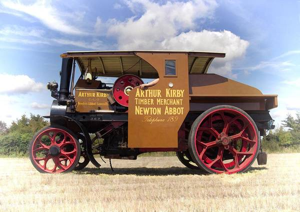 Photograph - Foden Tractor by Paul Gulliver