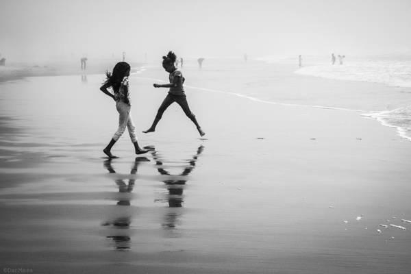 Niebla Wall Art - Photograph - Fog At The Ocean Beach by Dan Masa