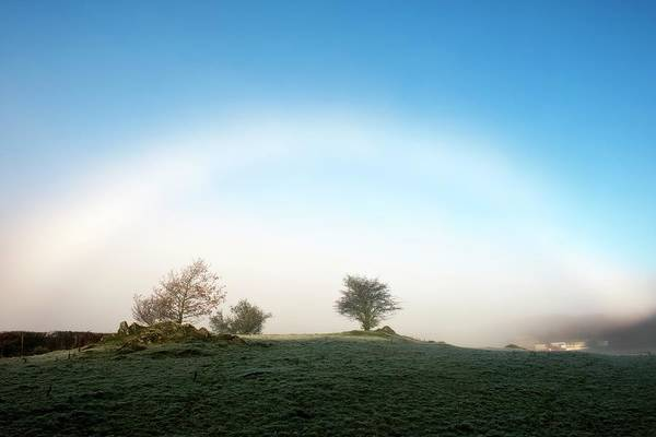 Arc Photograph - Fog Bow by Jeremy Walker