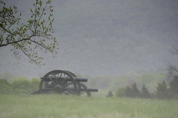 Wall Art - Photograph - Fog Covering The Cannons On Bolivar Heights by Dave Sandt