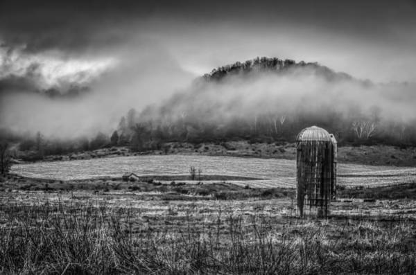 Wall Art - Photograph - Fog Lifting Off Of The Farm Field 1 by Thomas Young