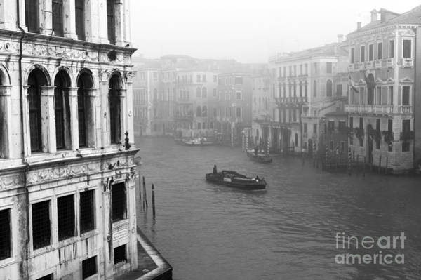 Photograph - Fog On The Grand Canal by John Rizzuto
