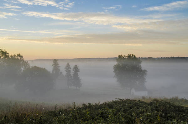 Wall Art - Photograph - Fog Over Valley Forge by Bill Cannon