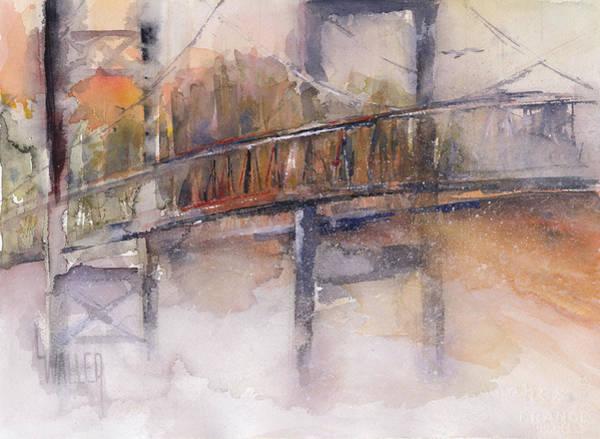 Tacoma Painting - Foggy Bottom by Lola Waller