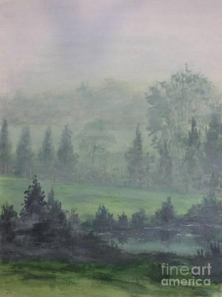 Wall Art - Painting - Foggy Bottom Tennessee by Dana Carroll