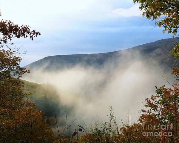 Kaaterskill Clove Photograph - Foggy Clove by Donna Cavanaugh