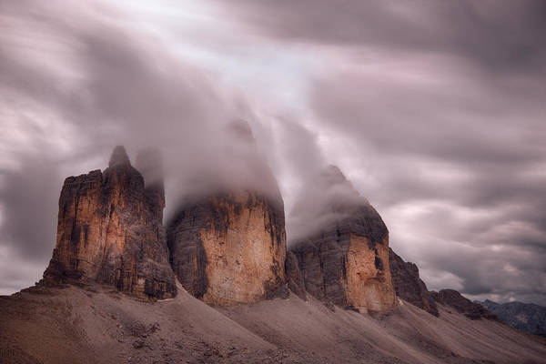 Cloudy Photograph - Foggy Cover by Damiano Serra