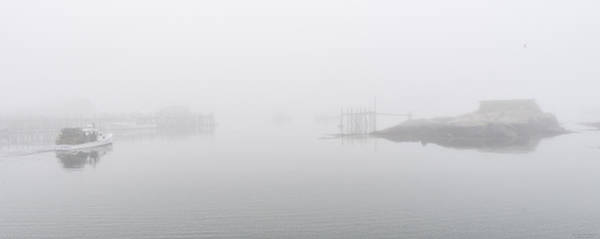Photograph - Foggy Day Lobstering by Marty Saccone