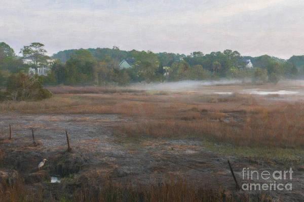 Digital Art - Foggy Daybreak by Dale Powell