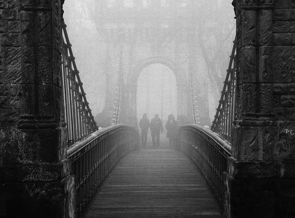 Perspective Wall Art - Photograph - Foggy Day(they) by Catalin Alexandru