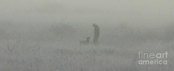Photograph - Foggy Dog Walk by Michael Cross