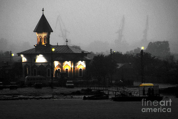 Photograph - Foggy Evening On The Danube by Ken Johnson