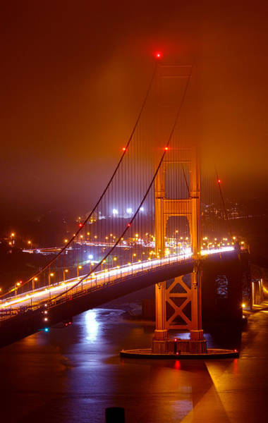 Photograph - Foggy Golden Gate by Bryant Coffey