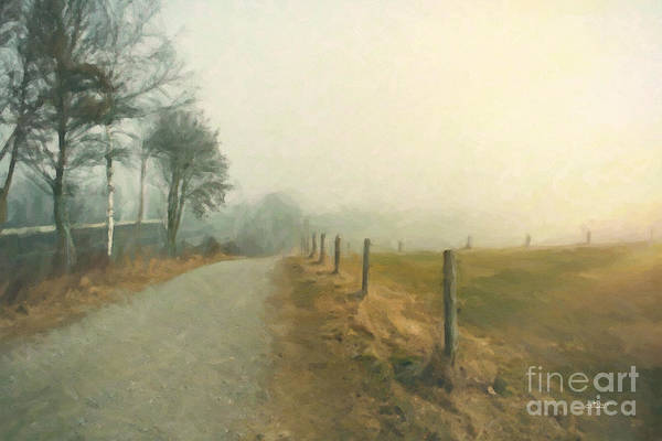 Photograph - Foggy by Jutta Maria Pusl